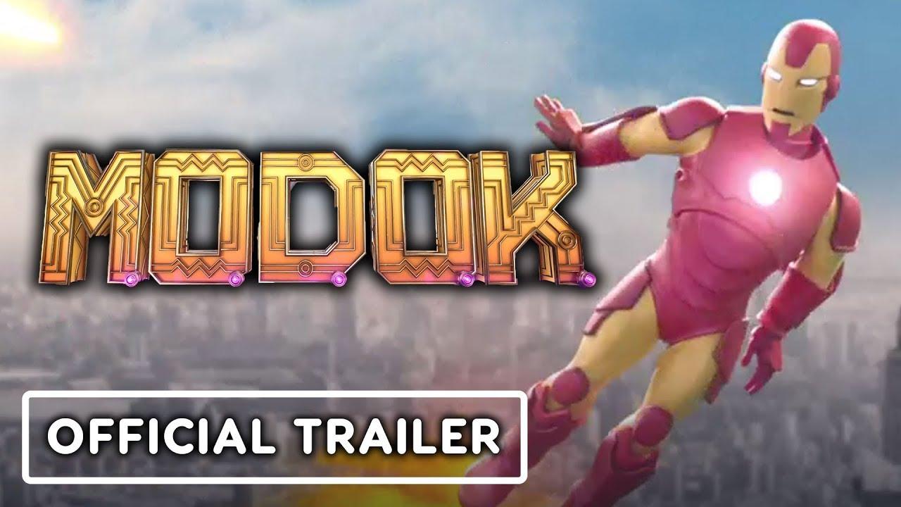 Marvel's M.O.D.O.K. - Official Season 1 Trailer (2021) Patton Oswalt, Melissa Fumero