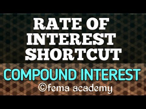 Compound Interest Problems | Aptitude Shortcuts and Tricks | find rate of interest by Shortcut