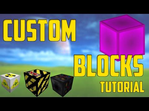 How To Make New Custom Blocks - Minecraft Command Block Tutorial [1.11][1.10][1.9]