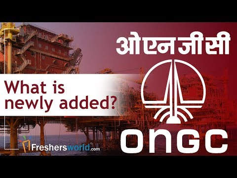 What's New in ONGC Recruitment? - 2018 new openings, ONGC Vacancies, Eligibility, GATE