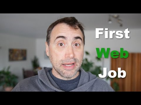 My First Freelance Web Design Job!