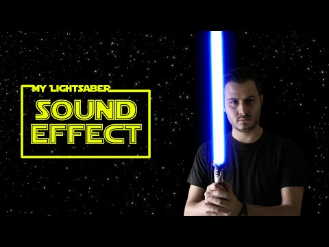 My New Star Wars Lightsaber Sound Effects - After Effects Test