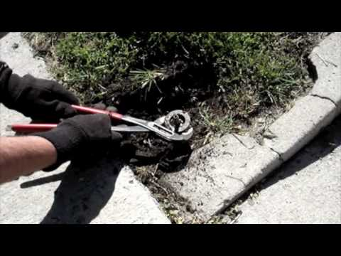 How to Replace an Orbit Sprinkler Head.