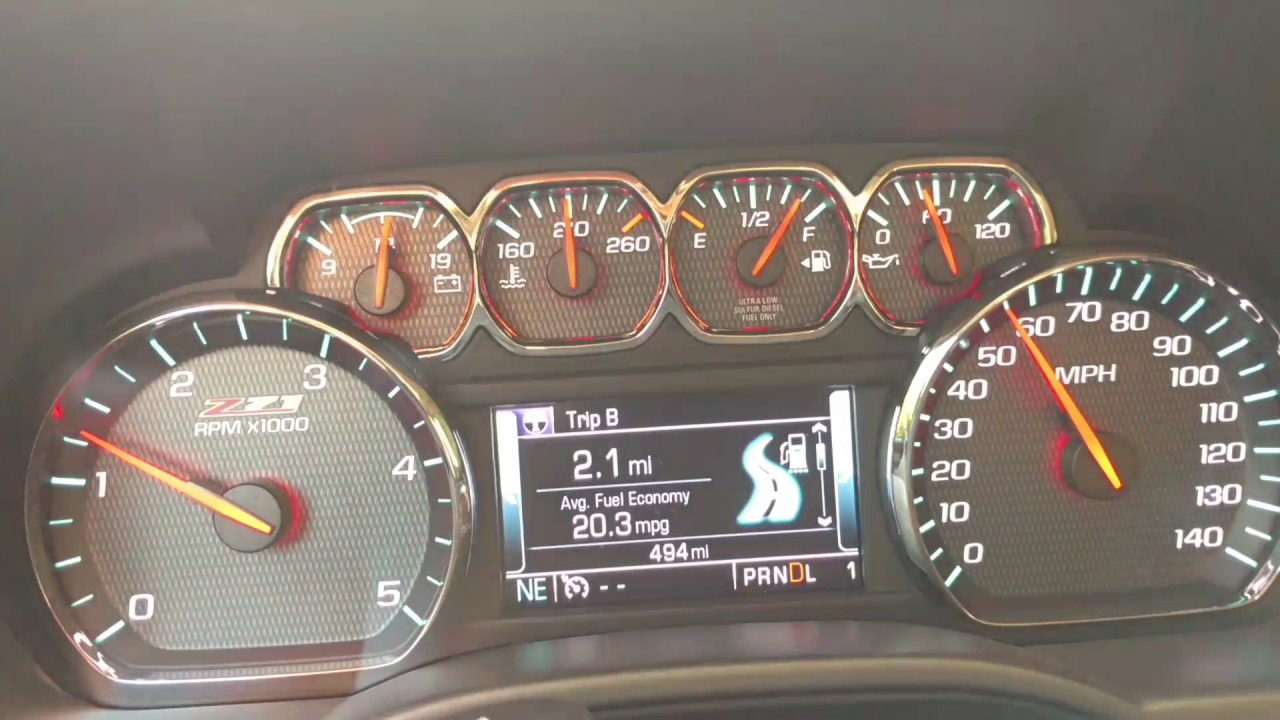 L5P Duramax mpg with 35's