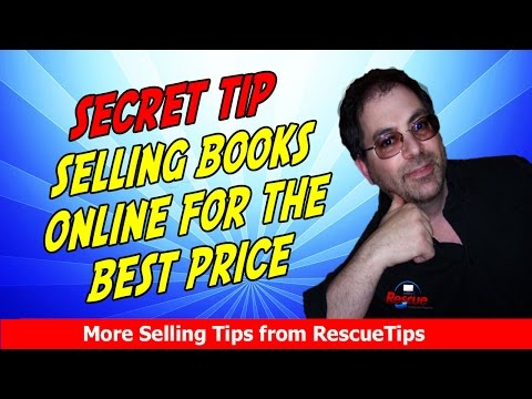 Best Kept Secret to Sell Books Online with or without Amazon and get the Best Price