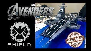 Marvel Avengers Toys | SHIELD Helicarrier HAND CRAFT | TimeLapse
