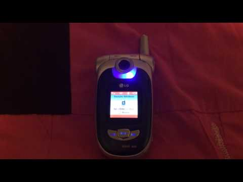 LG VX8100 Incoming Call - Verizon Wireless
