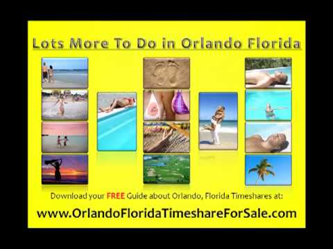 Guide- Orlando Florida Timeshares For Sale by Owner and Res