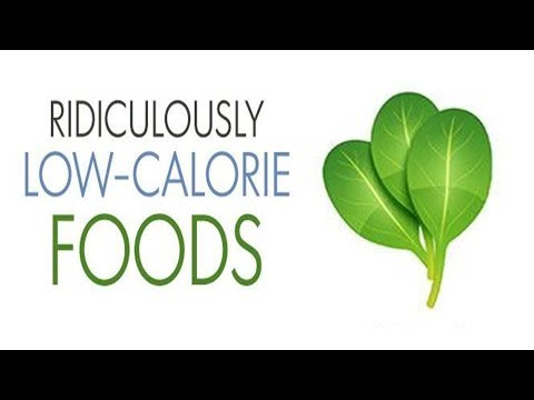 Ridiculously low calorie foods