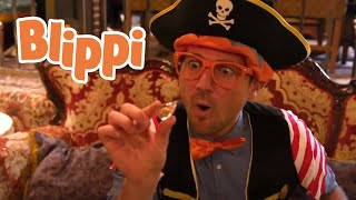 Blippi The Pirate Song | Blippi Songs | Nursery Rhymes and Kids Songs | Educational Songs For Kids