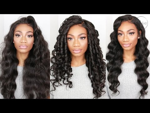 HOW I SLAY MY WIG | EASY GLAMOROUS WAND CURLS!