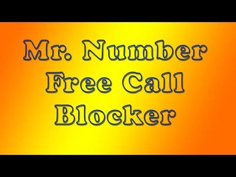 Mr Number free call blocker