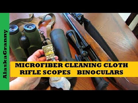 Microfiber Lens Cleaning Cloth For Outdoor Gear