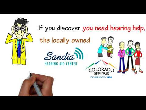 Hearing Test Colorado Springs | Sandia Hearing Aid Center | King Hearing Aids
