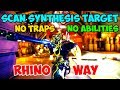 Download  How To Scan Simaris Target With No Traps Or Abilities Rhino Way MP3,3GP,MP4