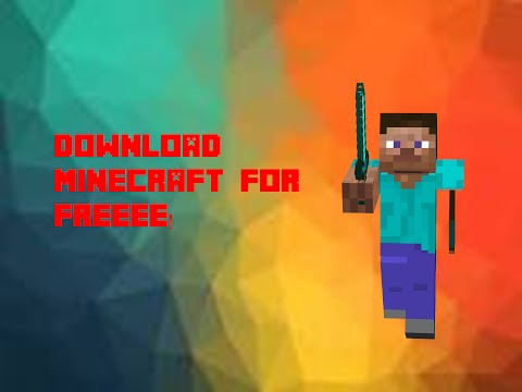 How To Download Minecraft For Free! (Not Demo)
