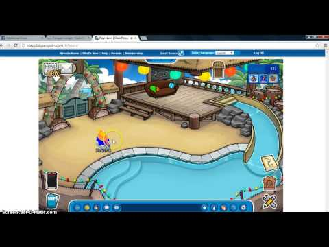 Awesome club penguin website