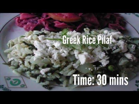 Greek Rice Pilaf Recipe