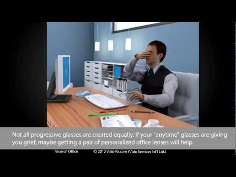 Office Lenses - Work lenses: Visiero® Office Introduction. Glasses Specifically for Office Work.