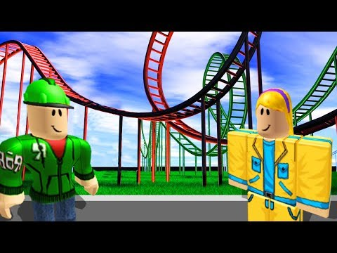BIGGEST ROLLERCOASTER EVER! (Roblox Themepark Tycoon #2)