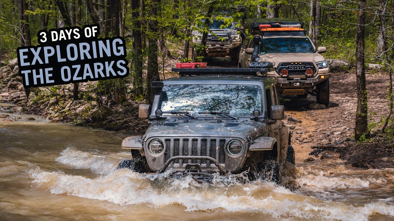 Jeeps vs. Toyotas Overlanding the Ozarks - A 3 Day Adventure