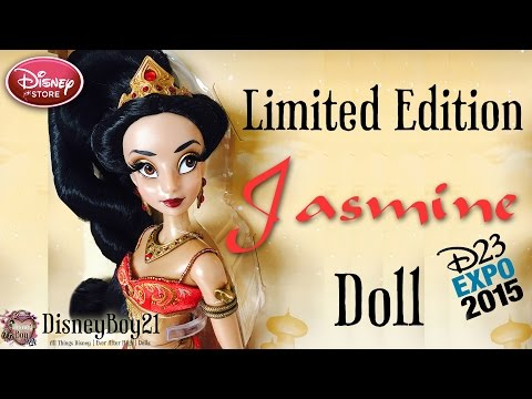 D23 Limited Edition Red Slave Jasmine Doll Review - Aladdin - Disney Store