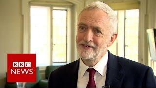 Jeremy Corbyn on snap general election - BBC News