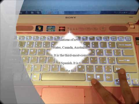 Arabic & English Keyboard.wmv