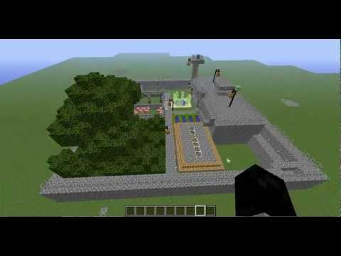 MINECRAFT Zombie Safe House