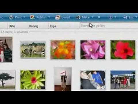 Windows 3 - Create a panoramic photo