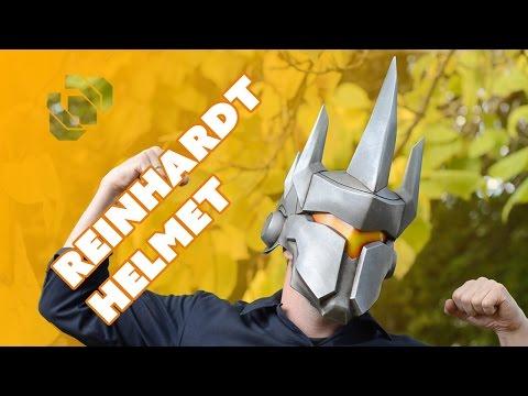 Making the Reinhardt Helmet from Overwatch with Barnacules - Prop: 3D