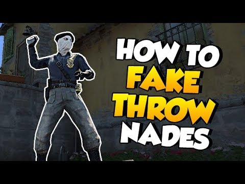 CS:GO - How to REALLY Fake Throw Nades!