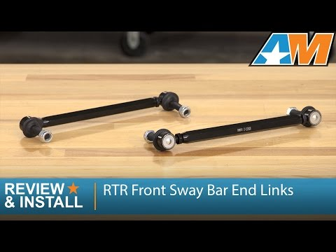 2005-2009 Mustang RTR Front Sway Bar End Links - Adjustable Review