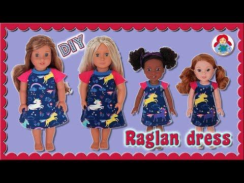 DIY | Raglan dress for 14