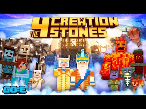 The Four Creation Stones - An RPG Adventure game on Minecraft