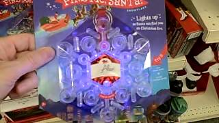 Download Light-Up Snow Flake Christmas Ornament (12-31-14 #32) Video