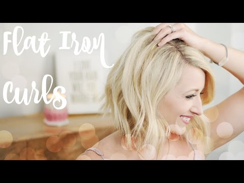 HowTo: Everyday Flat Iron Curls