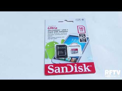 Sandisk 16GB Class 10 MicroSD - Test Speed & Bencmark