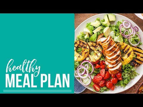 Healthy Meal Plan 2018