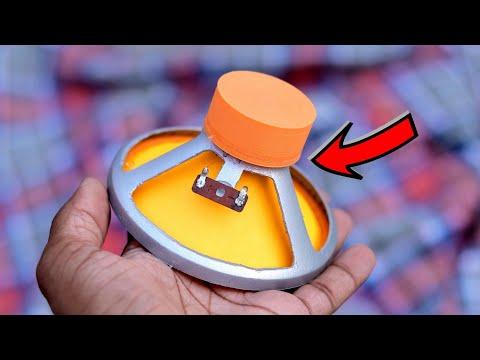 Amazing DIY Speaker From DC Motor