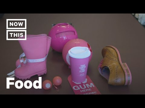 'Gumdrop' Turns Recycled Gum Into Shoes | NowThis