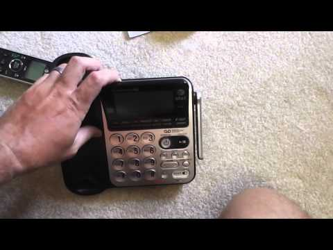 AT&T 84100 DECT 6.0 Corded/Cordless Phone Unboxing