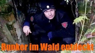 Bunker im Wald entdeckt... - Lost Place Urbex Urban Explorer