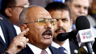 Houthi rebels celebrate death of ousted Yemeni leader