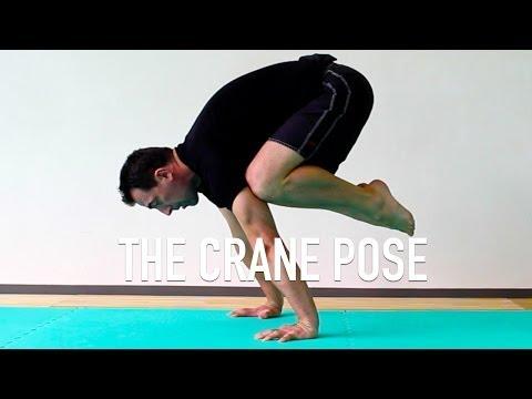 Crane Pose Setup - Preparation for Tuck Planche