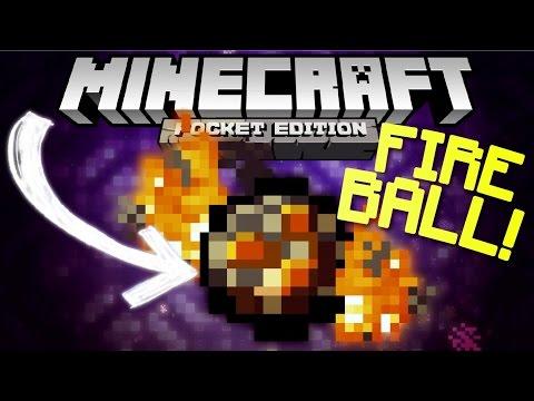 ✔️MCPE 0.16.0 - SPAWN FIREBALL! // Secret MCPE 0.16.0 feature! [Minecraft PE 0.16.0 beta]