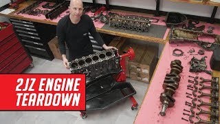 Download Detailed 2JZ Engine Teardown - See Why This Engine is So Loved Video