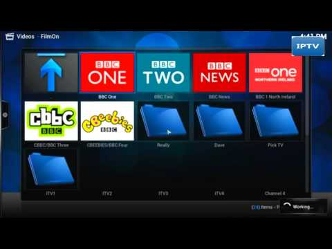 how to watch live tv on xbmc 2014/2015