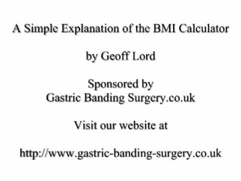 A Simple Explanation of the BMI Calculator