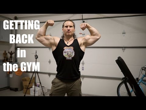How to GET BACK IN THE GYM After a Lay OFF